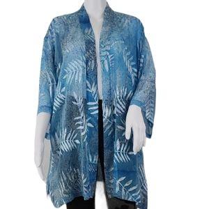 Drapers & Damon's Sheer Open Kimono